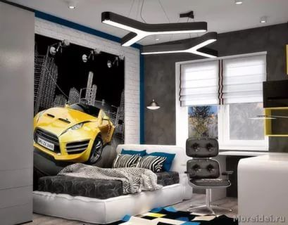 подростковая комната для мальчика , комната студента: 25 тыс изображений найдено в Яндекс.Картинках