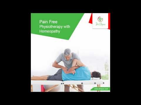 Pain Free Physiotherapy with homeopathy.