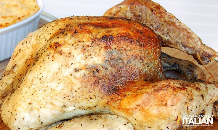 Best Ever Herb Roasted Turkey | FaveSouthernRecipes.com