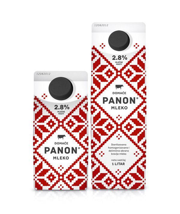 Panon mleko packaging - nordic