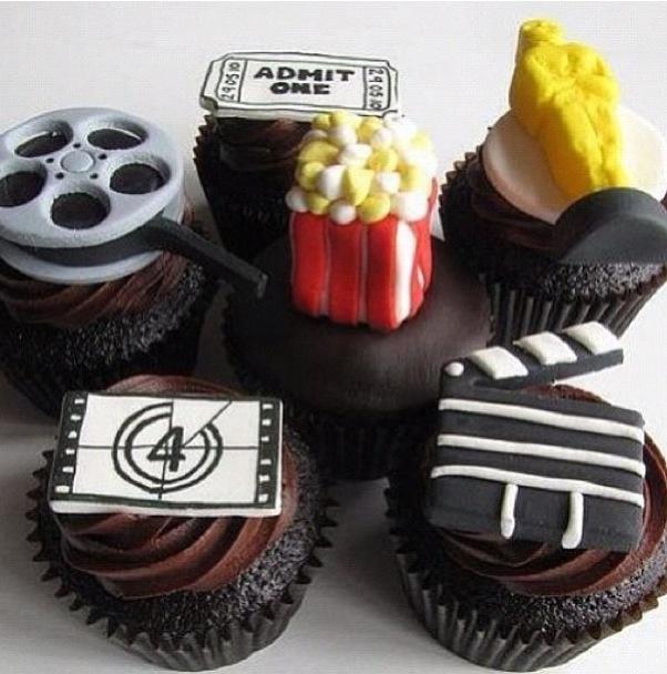 Movie Theater Cupcakes