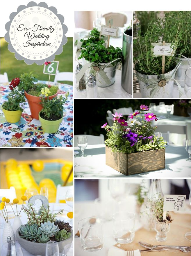 Eco Friendly Wedding Inspiration