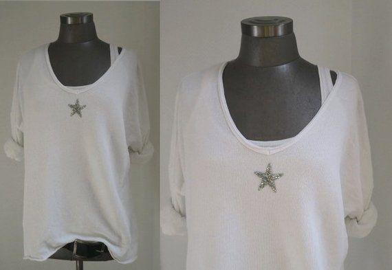 cheaper c4e42 e8f0a Pulli white, sweater white sweatshirt white, sweater glitter ...