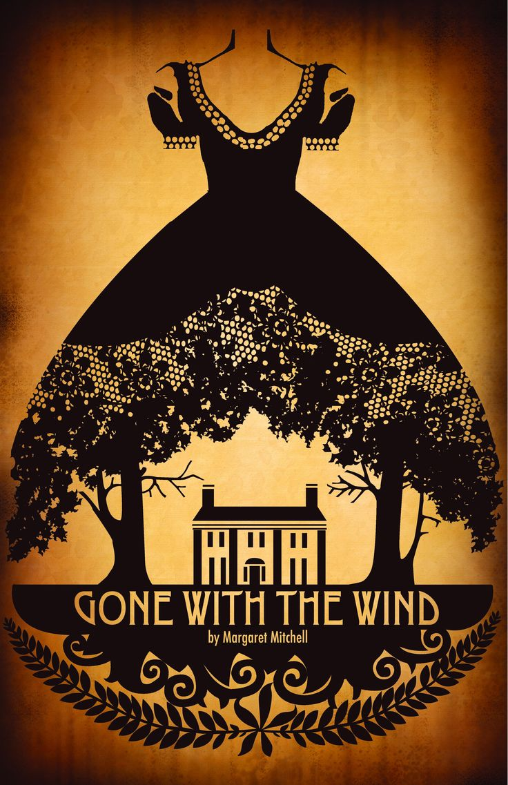 Gone With the Wind                                 Graphic Design