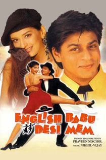 English Babu Desi Mem (1996) Hindi Movie Online in HD - Einthusan Shah Rukh Khan, Sonali Bendre, Rajeshwari Directed by Praveen Nischol Music composed by: Nikhil-Vinay 1996 ENGLISH SUBTITLE