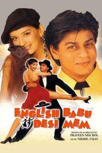 English Babu Desi Mem (1996) Hindi Movie Online in HD - Einthusan Shah Rukh Khan, Sonali Bendre, Rajeshwari Directed by Praveen Nischol Music composed by: Nikhil-Vinay 1996 ENGLISH SUBTITLE
