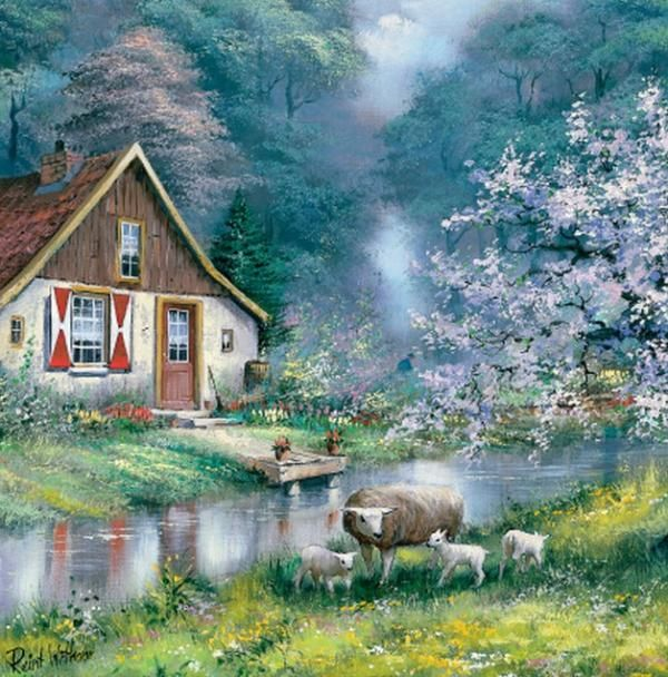 Countryside Paintings by Reint Withaar