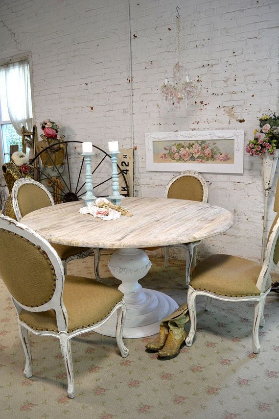 chic paintings cottages chic shabby round dining tables shabby