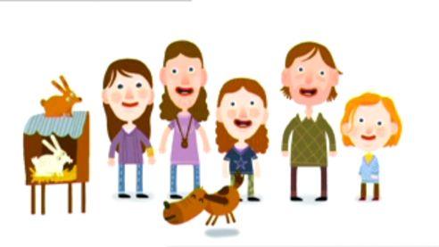 Schooltv: Huisje Boompje Beestje - Liedjes - This is my family