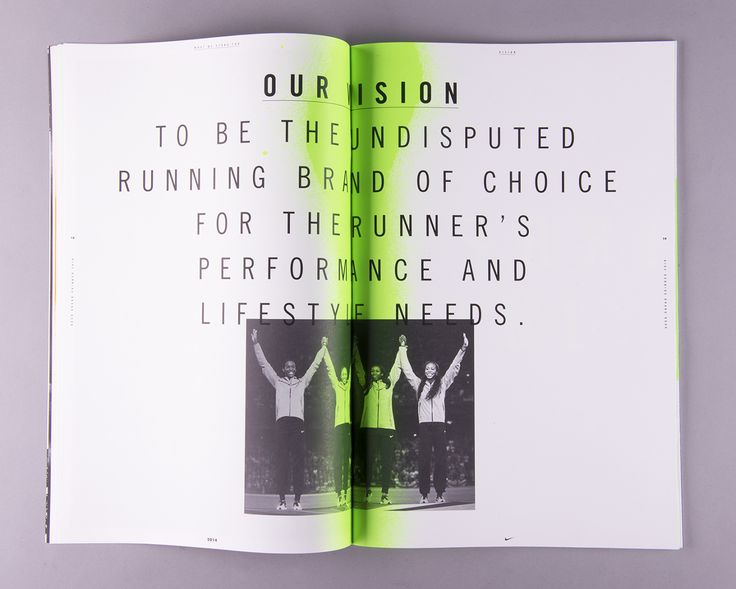Nike Running Brand Book - Anton Pearson