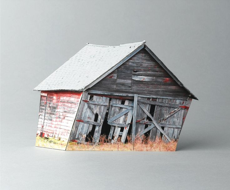 Ofra Lapid - based on photographs of abandoned structures neglected by man and destroyed by the weather.