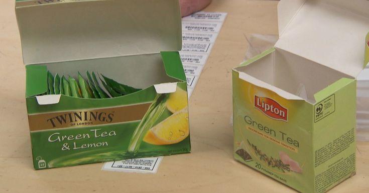 Twinings og Lipton har puttet sukker i den sunne teen, uten å skrive det på pakken.