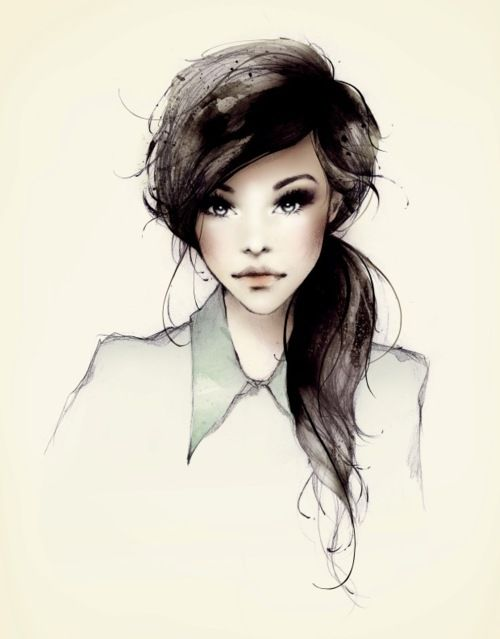 I want the hair. And the makeup. <3