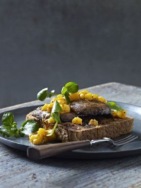James Tanner's devilled mushrooms on toast (Picture: Anders Schønnemann)