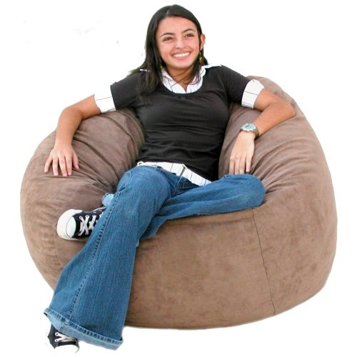 3-feet Earth Cozy Sac Bean Bag Chair Love Seat | Bean Bag Chair