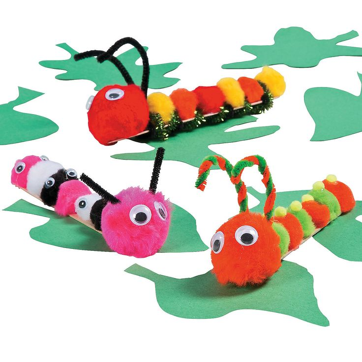 Use This Craft Stick Caterpillar Idea In The Classroom Or At Home For A Fun DIY  Craft Kids Will Love!