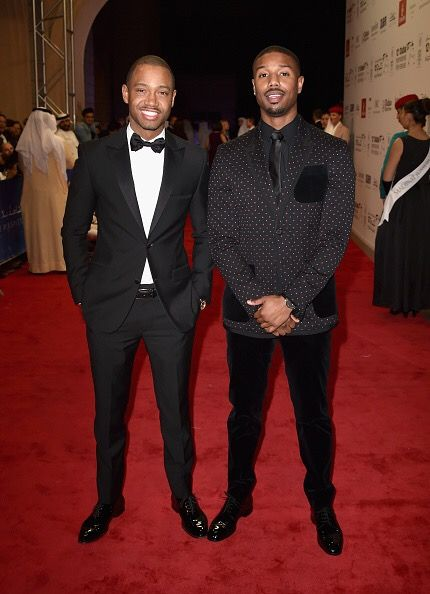 Actors Terrence J and Michael B. Jordan both beamed on the Opening Night Gala of  the 12th Annual Dubai International Film Festival.