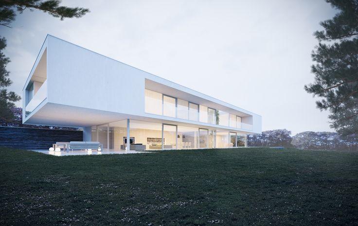 Maison unifamiliale Architete: Florence Jacquet & Perspectif Image: www.perspectif.be