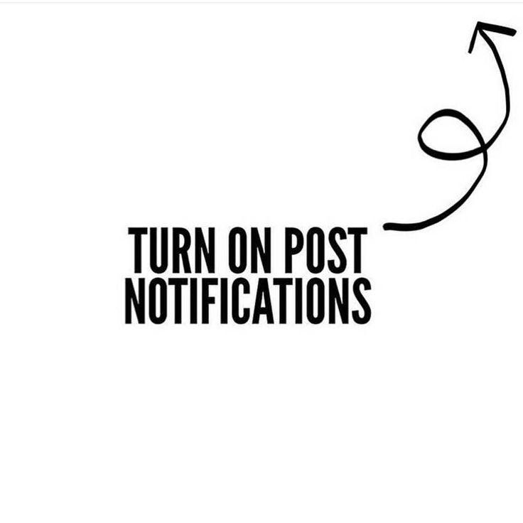 Supongo que si me sigues es porque te apetece ver mis fotos... #Instagram nos está volviendo loco con sus cambios así que si quieres seguir formando parte de esto... dale a activar notificaciones... MIL GRACIAS!