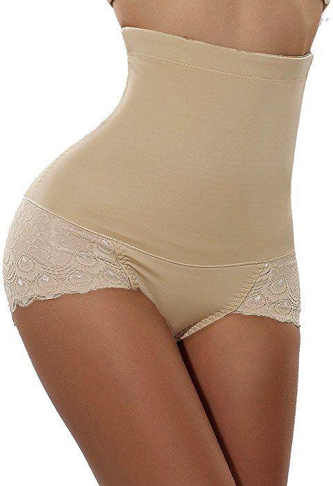 a7977cc666d4b Gotoly Invisable Strapless Body Shaper High Waist Tummy Control Butt Lifter  Panty Slim (Medium(Prime)