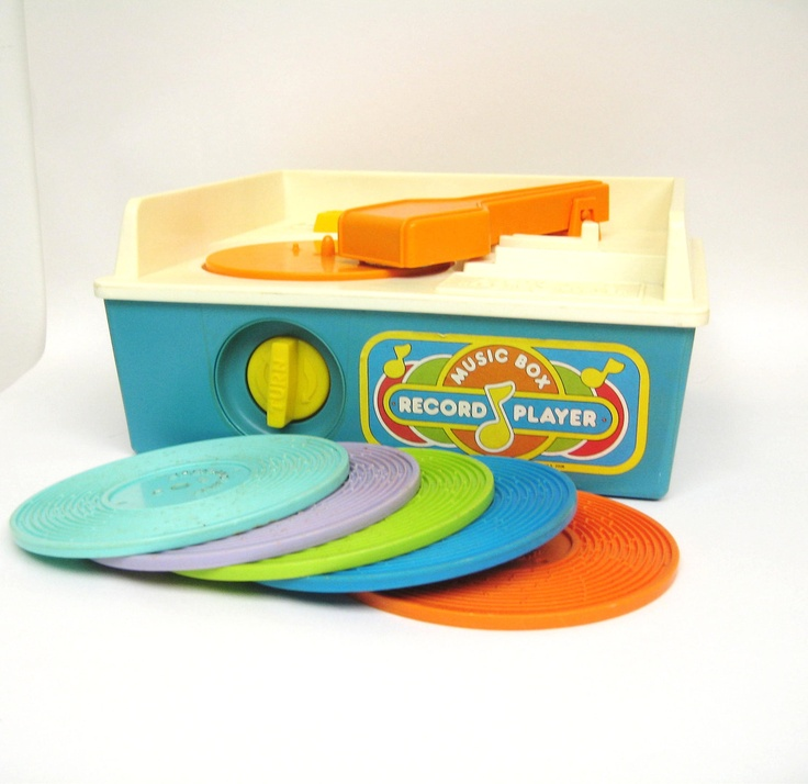 RESERVED Vintage Fisher Price Record Player - Complete | Toys | Pinterest
