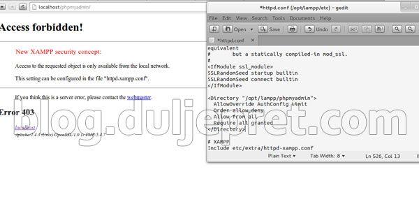 Cara Memasang Xampp di Ubuntu 13.04 Raring Ringtail Membuat Web Server berbasis Linux Ubuntu
