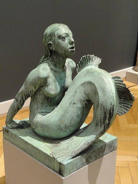 Anne Marie Carl Nielsen: Havfrue. Statens Museum for Kunst