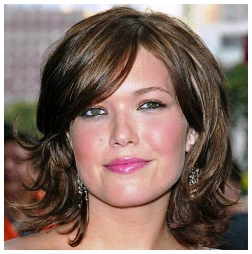 Hairstyles Thick Hair Fat Face - Hairstyles & Trends 2016
