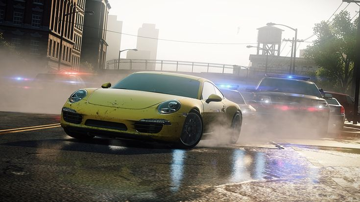 Need for Speed Most Wanted 2012 Game Snapshot