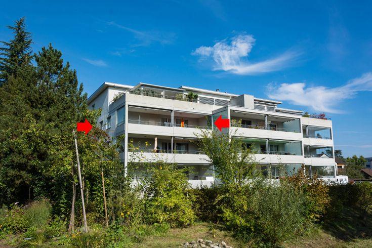 Helle 4½-Zimmer-Wohnung mit grossem, verglastem Balkon