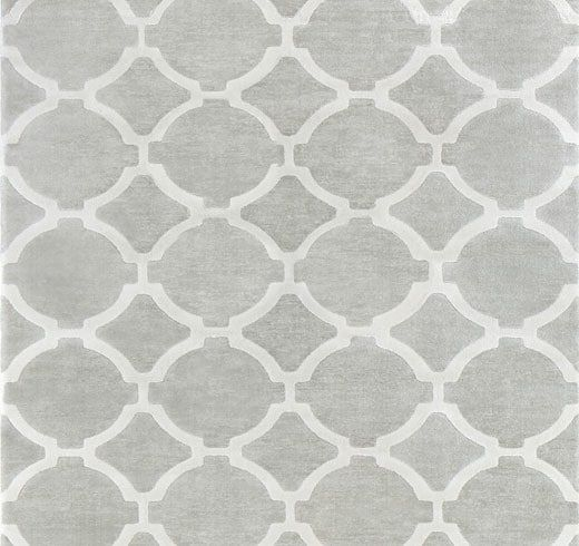 Ikea Hillested Rug Low Pile Gray White Medium