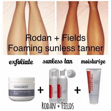 Try out the amazing Rodan and Fields self tanner. View and purchase products through this link. Kelseydavis.myrandf.com