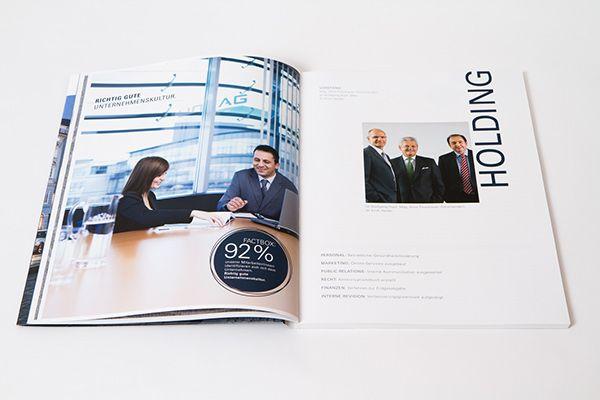 LINZ AG annual report 2013 by Projektagentur Weixelbaumer, via Behance