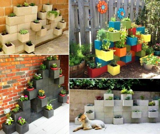 Cinder-Block-Garden-Planter-wonderfuldiy