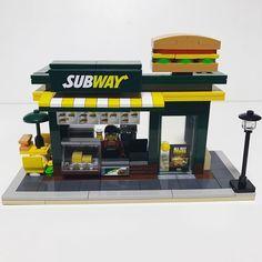 Custom LEGO Oxford Subway