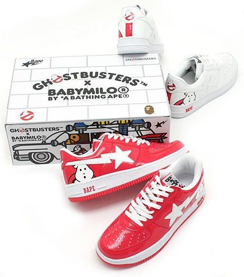 ghostbusters x babymilo - bape trainers, 2009
