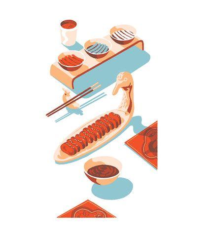Tom Haugomat - Travel & Leisure  Tiphaine-illustration   #sushi #food