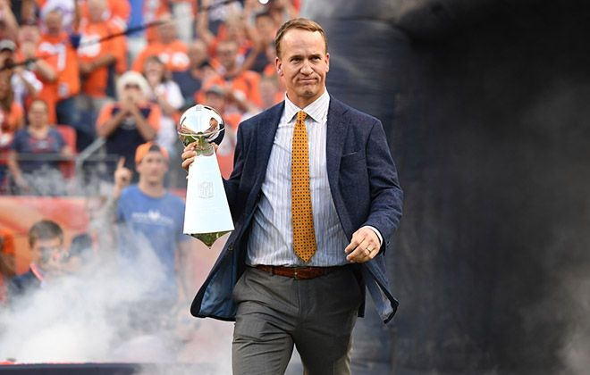 The appearance of Peyton Manning surprised everyone.  Best of Broncos highlights vs. Panthers