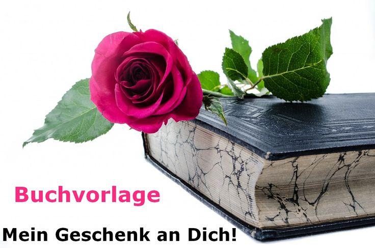 Mein Geschenk an Dich! Buchvorlage mit Word, PDF und Cover Formatierung