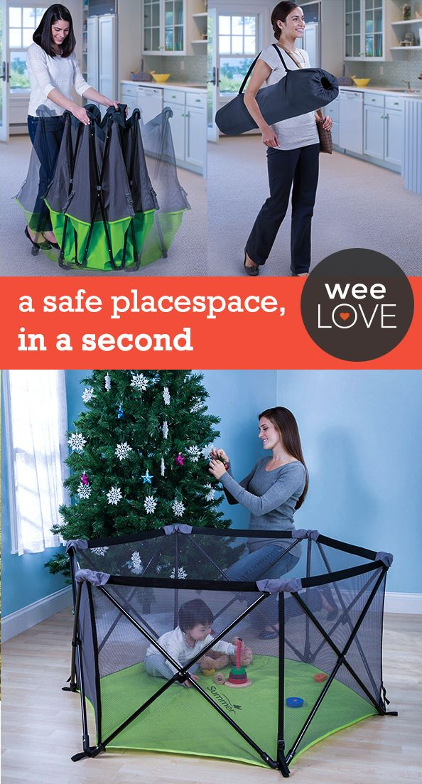 A safe play space, in a second  | Want to get weeLove in your inbox? www.wee.co/weelove