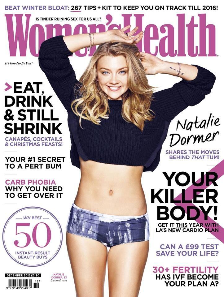 Natalie Dormer - Women's Health UK - December 2015.