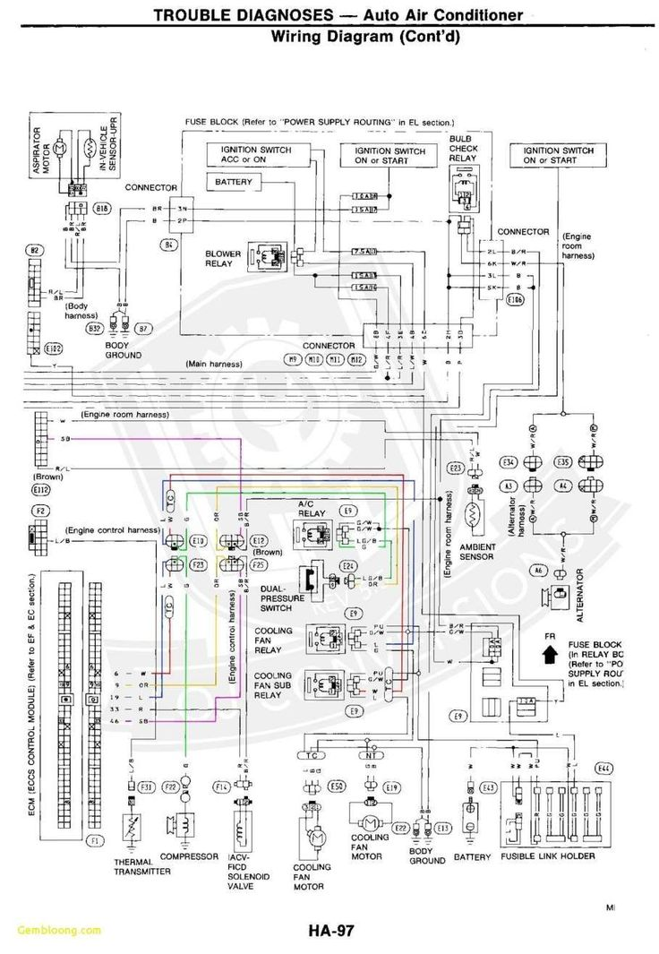 1998 Ford Explorer Wiring Harness Diagram in 2020