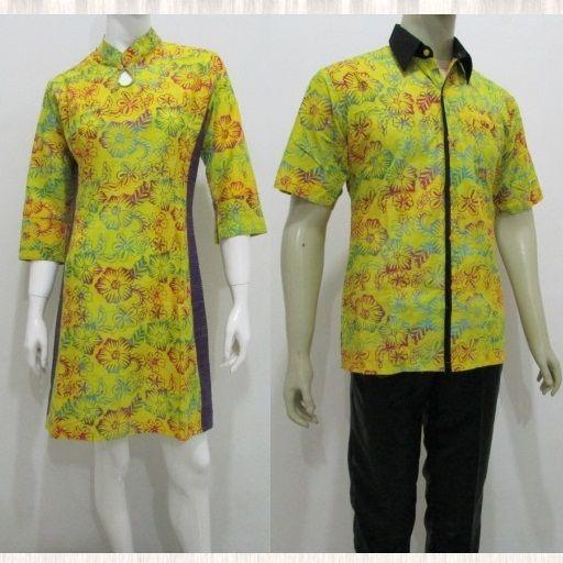 Toko baju sarimbit keluarga mama papa pasangan terbaru batik couple online murah solo pekalongan