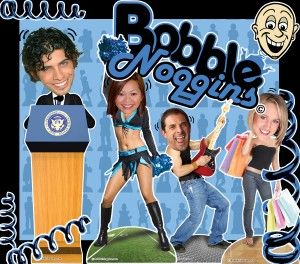 Bobble Noggins is an amazing new interactive, fun and exciting experience that drives traffic and builds excitementat all types of events.   If you are considering hot and new ways to add the wow effect to your events Bobble Noggins can do just that. http://texasentertainmentgroup.com/attractions/photo-video-fun/bobble-noggins/