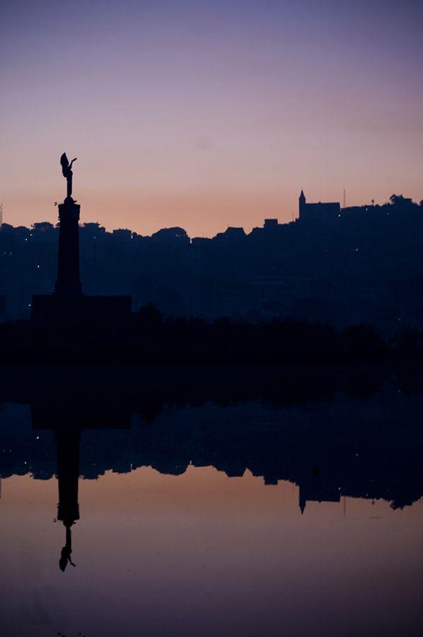 #sunrise in Tanà #reflection