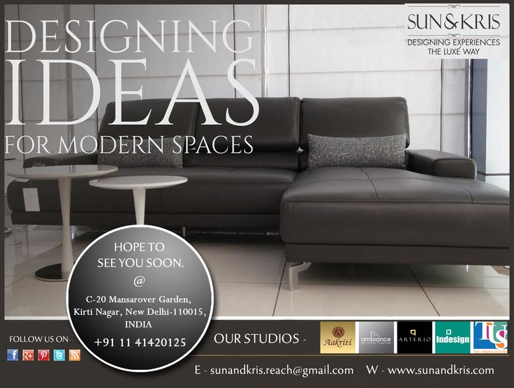 Find The Modern Range Of Furniture To Style Your Home Your Way. Visit Us At