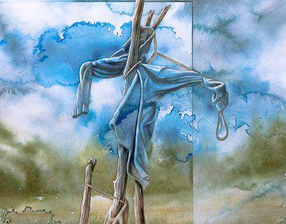 "Check out new work on my @Behance portfolio: ""Epouvantail"" http://be.net/gallery/47122847/Epouvantail"