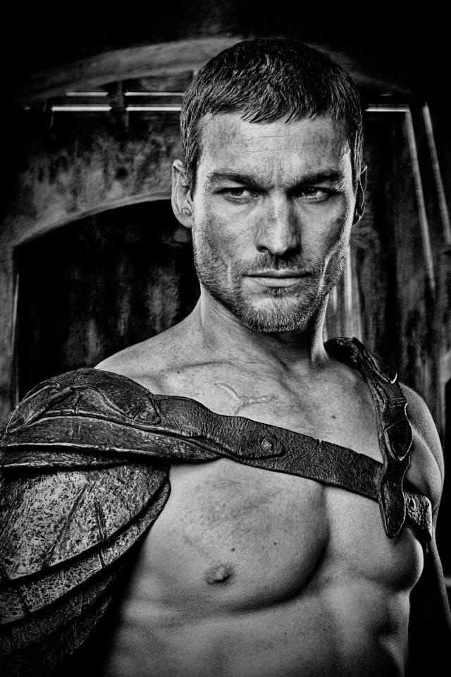 Andy Whitfield. So sad he's gone.