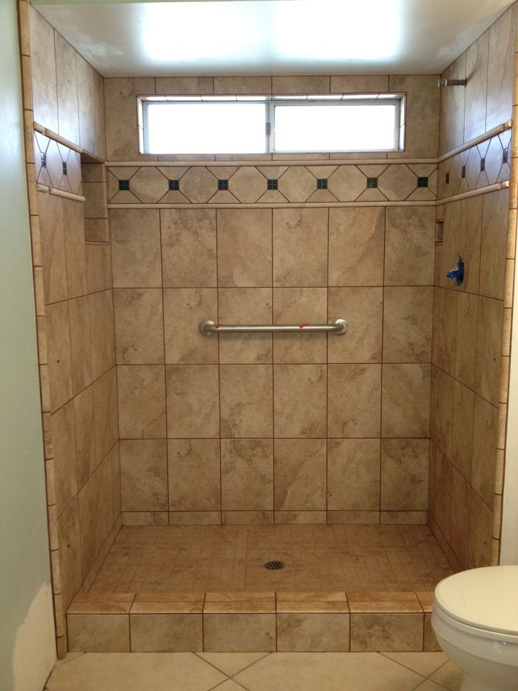 Photos of tiled shower stalls photos gallery custom tile work co ceramic natural stone for Bathroom shower stall replacement
