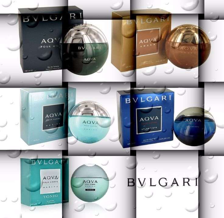 BVLGARI Aqua Pour Homme Amara Marine Atlantique Toniq EDT 5 3.4 1.7 1 for MEN #Bvlgari